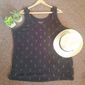 Maurices Black Layering Tank Top